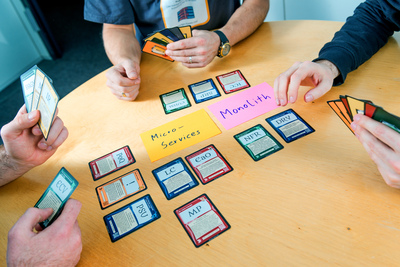 Design Cards: Arguments for different solutions